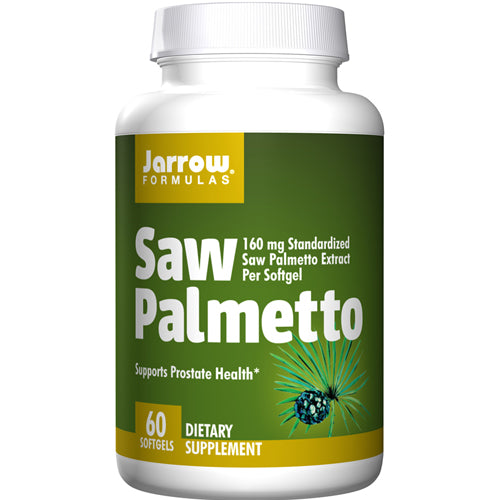 Saw Palmetto 60 Softgel by Jarrow Formulas
