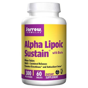 Alpha Lipoic Sustain 60 Tabs by Jarrow Formulas (2583953145941)