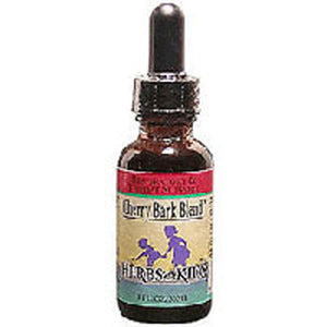 Cherry Bark Blend Alcohol-Free 1 Fl Oz by Herbs For Kids (2583983489109)