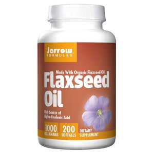 Flaxseed Oil 200 Softgel by Jarrow Formulas (2583953604693)