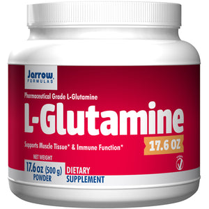 L-Glutamine  17.6 oz (500 g) by Jarrow Formulas