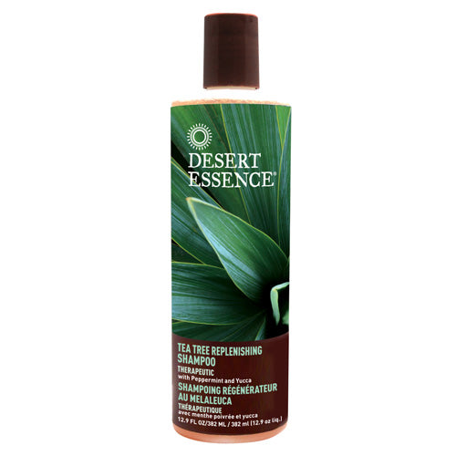 Tea Tree Replenishing Shampoo DAILY REPLENISHING , 12.9 OZ by Desert Essence