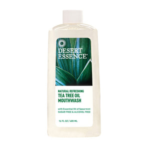 Tea Tree Oil Mouthwash Spearmint 16 Fl Oz by Desert Essence
