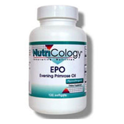 Evening Primrose Oil 120 Sftgls by Nutricology/ Allergy Research Group