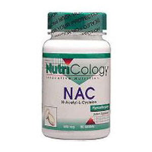 N-Acetyl Cysteine 120 Tabs by Nutricology/ Allergy Research Group (2584014323797)