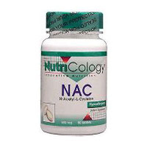 N-Acetyl Cysteine 120 Tabs by Nutricology/ Allergy Research Group