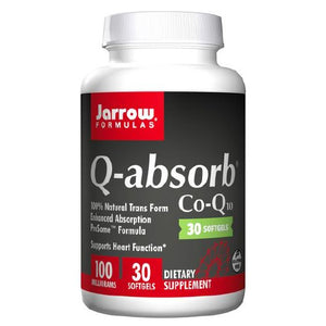 Q-absorb Co-Q10 30 Softgels by Jarrow Formulas