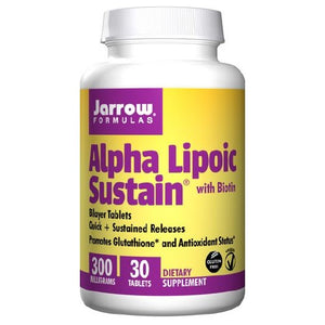 Alpha Lipoic Sustain 30 Tabs by Jarrow Formulas (2584033394773)