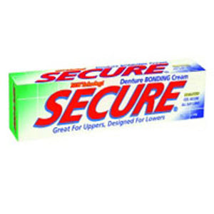 Secure Denture Bonding Cream 1.4 OZ by Bioforce USA