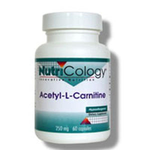 Acetyl L-Carnitine 60 Caps by Nutricology/ Allergy Research Group (2584091590741)