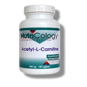 Acetyl L-Carnitine 100 Capsules by Nutricology/ Allergy Research Group