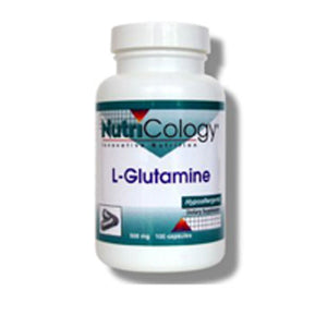L-Glutamine 100 Caps by Nutricology/ Allergy Research Group