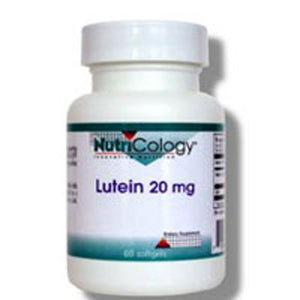 Lutein 60 Softgels by Nutricology/ Allergy Research Group