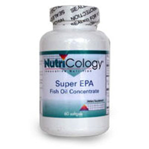 Super EPA Fish Oil Concentrate 60 Softgels by Nutricology/ Allergy Research Group (2587248427093)