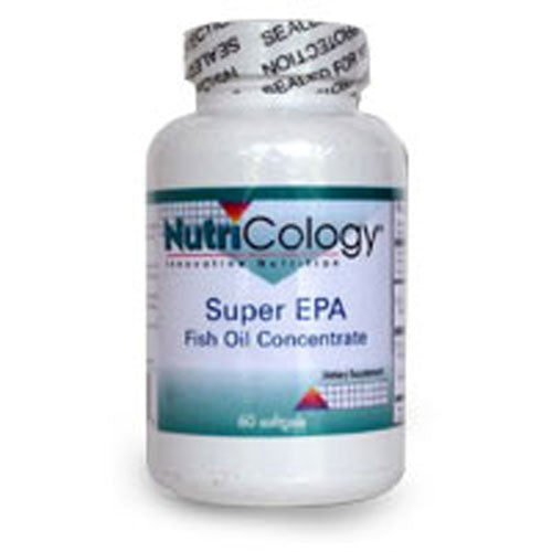 Super EPA Fish Oil Concentrate 60 Softgels by Nutricology/ Allergy Research Group