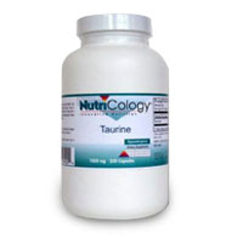 Taurine 250 Caps by Nutricology/ Allergy Research Group