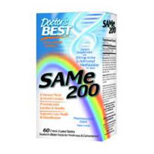 SAM-e 60 Tabs by Doctors Best (2587250753621)