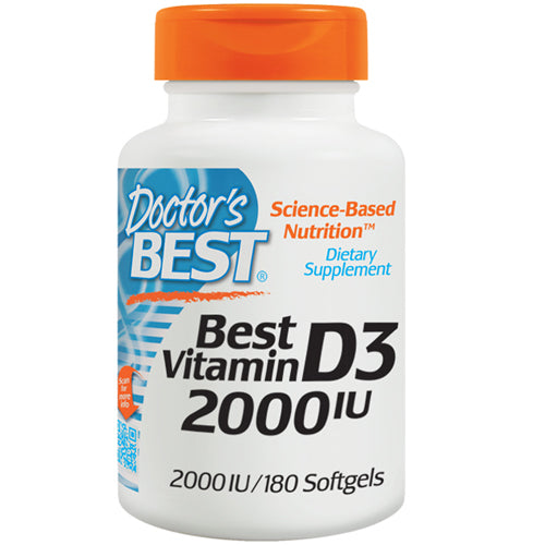 Vitamin D3 180 Softgels