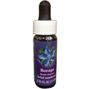 Borage Dropper 1 oz by Flower Essence Services (2589032874069)