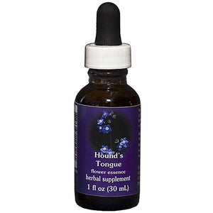 Hounds Tongue Dropper 1 oz by Flower Essence Services