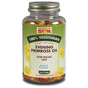 Evening Primrose Oil 100% Vegetarian 90 Softgels by Health From The Sun