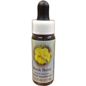 Rock Rose Dropper 1 oz by Flower Essence Services (2589042868309)