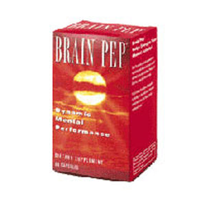 Brain Pep 30 Caps by Natural Balance (Formerly known as Trimedica)  (2589058662485)