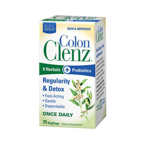 Colon Clenz 60 VCaps by Body Gold (2587255570517)