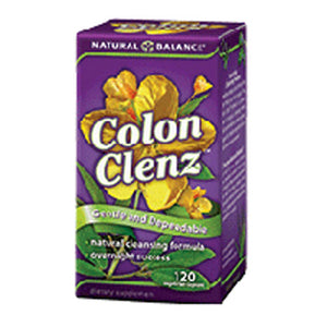 Colon Clenz 120 Veg Caps by Natural Balance (Formerly known as Trimedica)  (2587255636053)