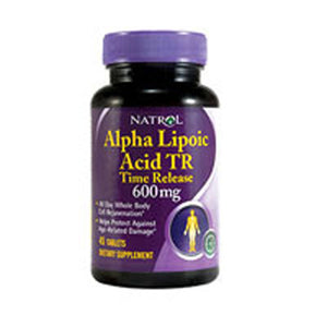 Alpha Lipoic Acid Time Release 45 Tabs by Natrol (2587257602133)