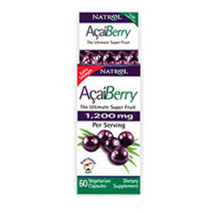 AcaiBerry Extra Strength 60 Vcaps by Natrol