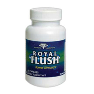 Royal Flush Bowel Stimulant 60 Caps by Oxylife Products (2587259338837)