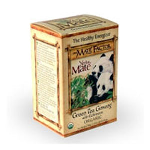 Green Tea Ginseng 20 Bag by The Mate Factor (2589067837525)