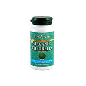 Organic Chlorella 300 Tabs by Green Foods Corporation (2587261075541)