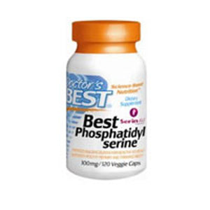 Phosphatidyl Serine 120 Vcaps by Doctors Best (2589070819413)