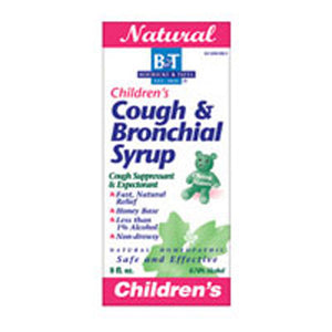 Childrens Cough & Bronchial Syrup CHILD , 8 OZ by Boericke & Tafel (2583975919701)
