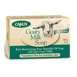 Goat's Milk Soap Fragrance Free 5 Oz by Canus Goats Milk
