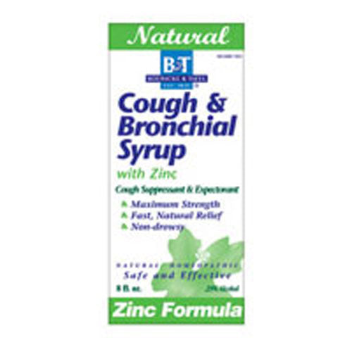 Cough & Bronchial Syrup WITH ZINC, 8 OZ by Boericke & Tafel