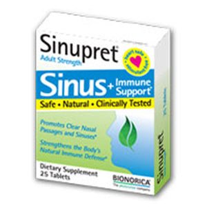 Sinupret Adult Strength 50 Tablets by Bionorica