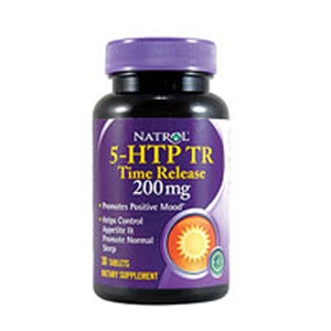 5-HTP Time Release 30 Tabs by Natrol (2587265564757)