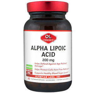 Alpha Lipoic Acid 60 Caps by Olympian Labs (2589075177557)