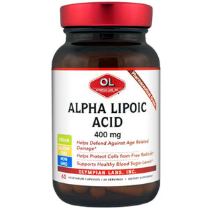 Alpha Lipoic Acid 60 Caps by Olympian Labs (2589075243093)