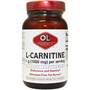 L-Carnitine 60 Caps by Olympian Labs (2587265761365)