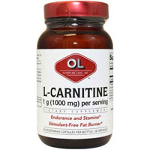 L-Carnitine 60 Caps by Olympian Labs