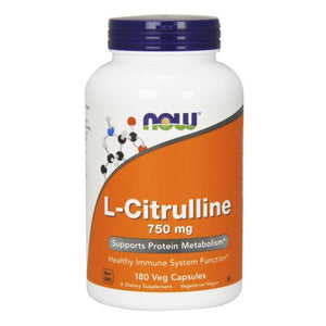 L-Citrulline 180 Caps by Now Foods (2587266285653)