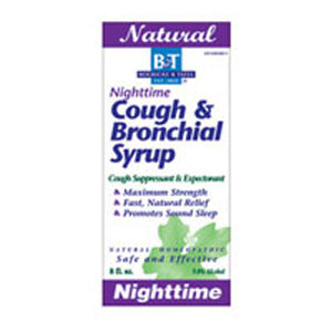 Nighttime Cough & Bronchial Syrup 8 Oz by Boericke & Tafel (2583976280149)