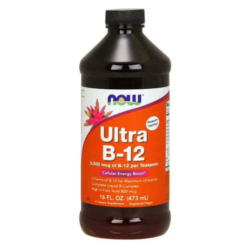 Ultra B-12 liquid 16 oz by Now Foods