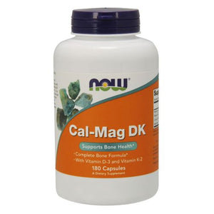 Cal-Mag DK 180 Caps by Now Foods (2587266777173)