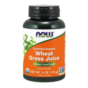 Wheat Grass Juice 4 oz by Now Foods