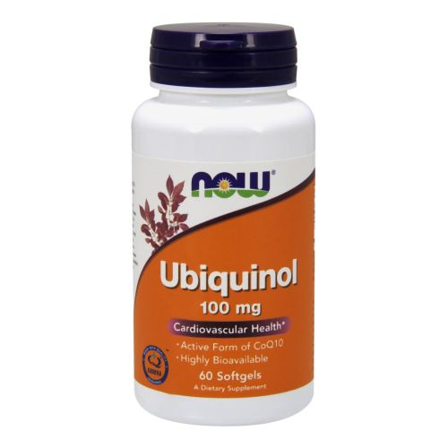Ubiquinol 60 Softgels by Now Foods,